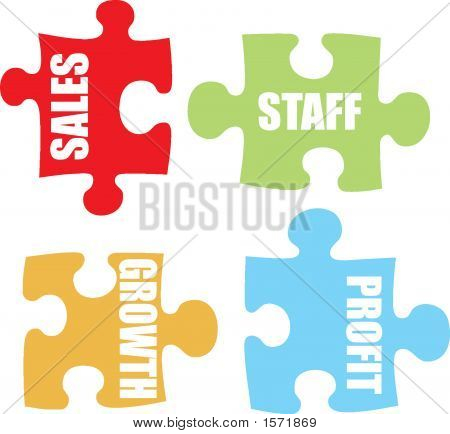 Business Jigsaw Colour