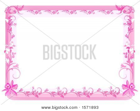 Victorian Floral Border