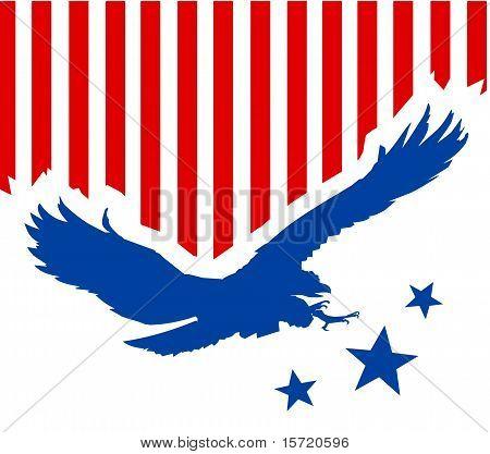 american eagle silhouette