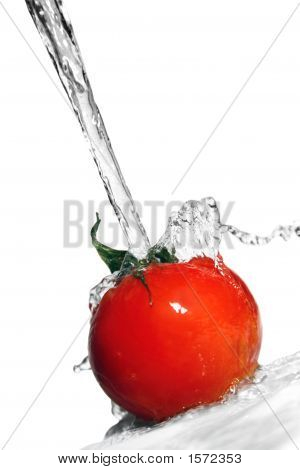Tomatos And Water