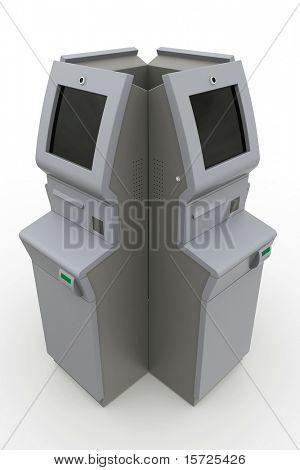 atm machine - box