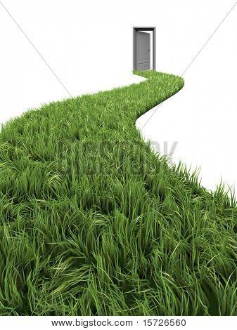 Grünen Weg