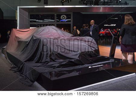 Mazda Debut Car On Display