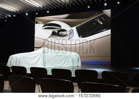 Mercedes-benz Debut Car On Display