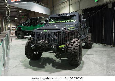 Customized Jeep On Display