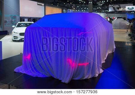 Jaguar Debut Car On Display