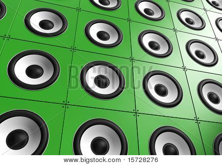 Wall of sound - Green