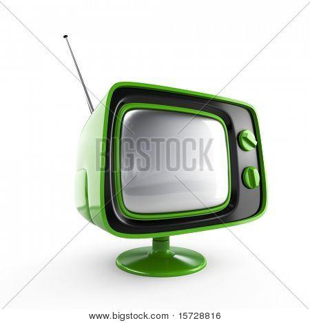 stilvolle retro tv. mehr tv in meinem portfolio