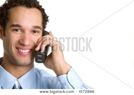 Telephone Businessman