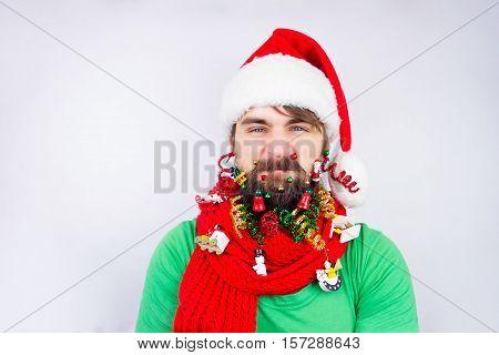 Santa's Decorated Beard