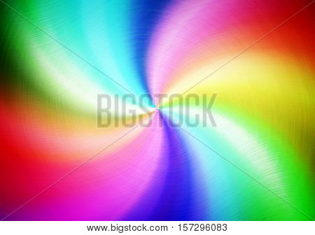 abstract colorful twisted background
