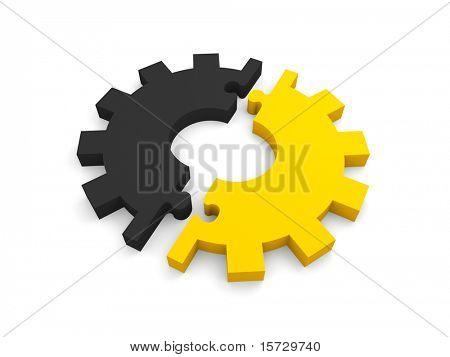 Gear puzzle