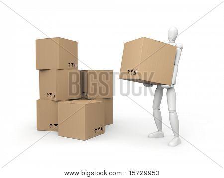 Warehouse services concept