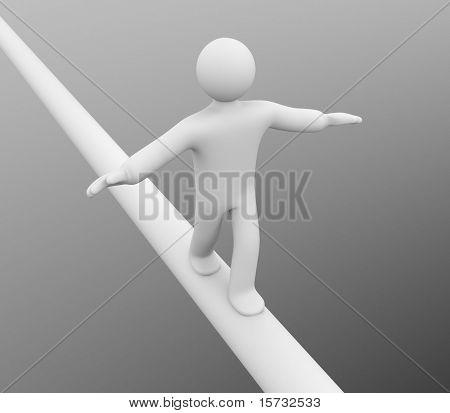 Balance. Success concept