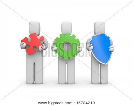 Complex service. Idea, development and security