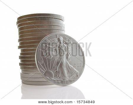 Twenty Silver Dollars