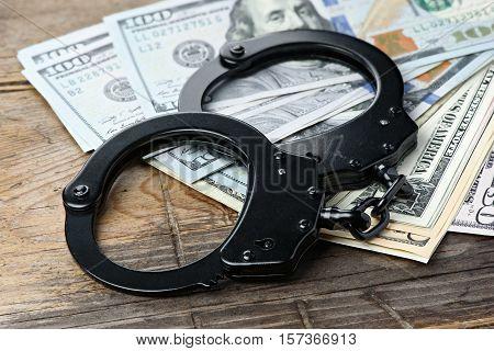Criminal Business Concept