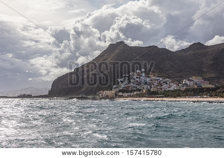 Village of San Andres in Tenerife (Canary Islands, Spain)