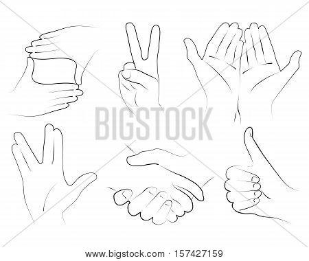 hands. hands gesture. frame hands. victory hands. vulcan salute. like hand. handshake. handful