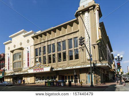 Facade Of Historic Cinema Gaslamp 15