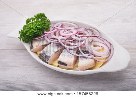 Herring With Parley