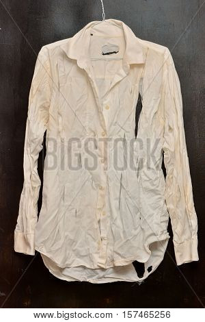 Grunge White Shirt