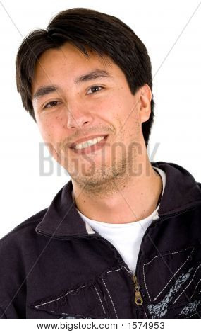 Latin American Man Portrait