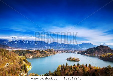 Amazing Bled Lake, Slovenia, Europe