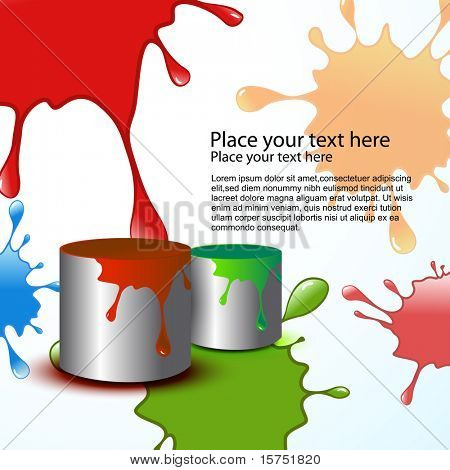 abstract holi vector background design