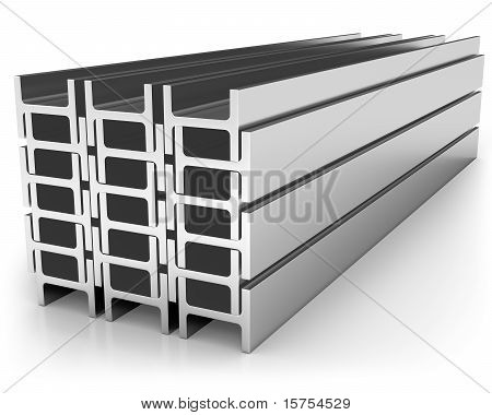 Stack Of Iron Joists