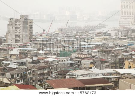 Pollution Problem in China with Chinese City View