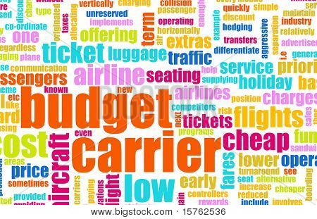 Budget Carrier Low Cost Airline Concept Art