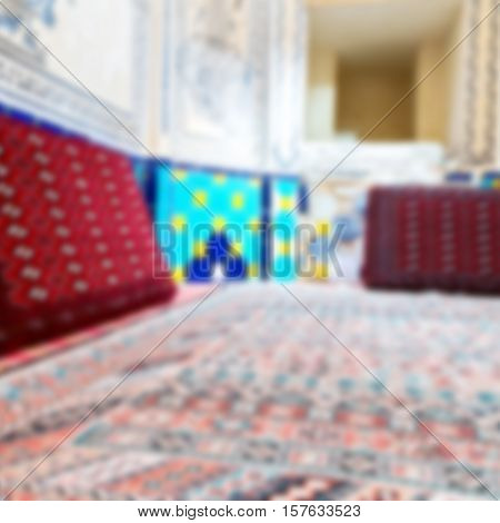 In Iran   Hammam  Carpet