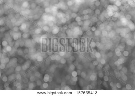 Blurred Lights Circular Bokeh For Christmas Background