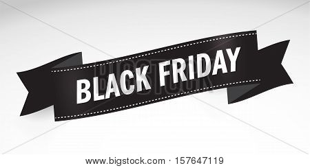 Black Friday Sales, Special Offer - Black Friday banner. Icon Design Template Vector illustration