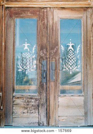 Vintage Hotel Doors