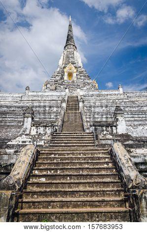 Ayutthaya (Thailand) Wat Phu Khao Thong temple