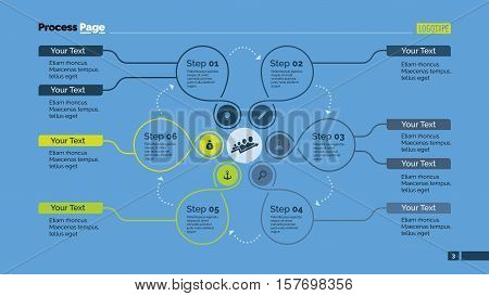 Creative cycle diagram. Element of presentation, step diagram, chart. Concept for infographics, business templates, reports. Can be used for topics like marketing analysis, strategy, planning