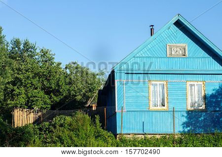 Journey Through Russia. The Road House. Photos From The Car Window.