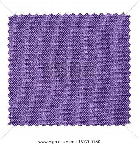 Violet Zigzag Fabric Sample