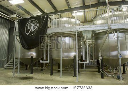 Wilderness Trails Distillery Fermentation Vats