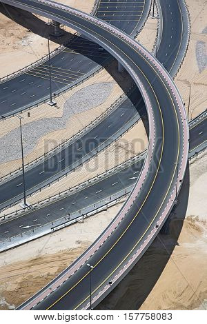 Highways from above