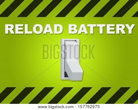 Reload Battery Concept