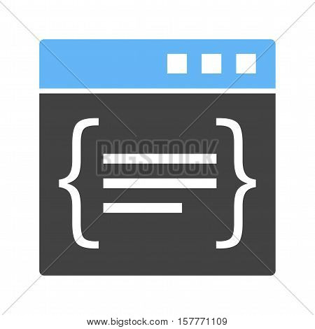 Code, binary, digital icon vector image. Can also be used for software development. Suitable for mobile apps, web apps and print media.