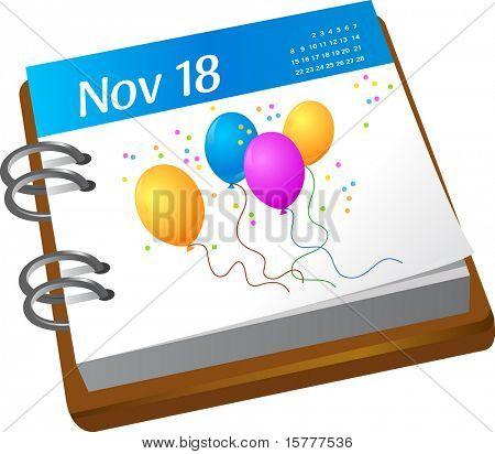 calendar - birthday