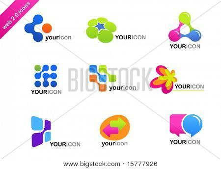 collection of abstract icons - for additional works of this kind, CLICK ON MY NICKNAME BELOW TO VISIT MY GALLERY