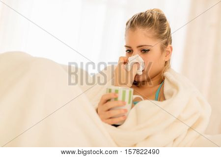 Girl With A Sniffle