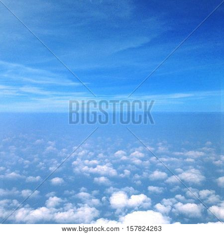 Sky Cloud Stratosphere Heaven Concept