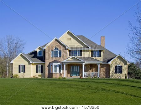 Large Executive Brick Home