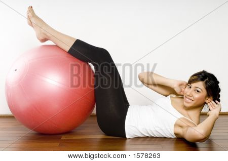 Fitball Crunch